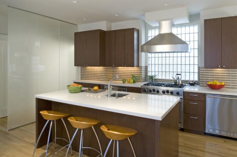 Cucine integrate nel soggiorno